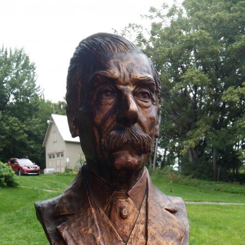 Buste d'Eugène Marchand