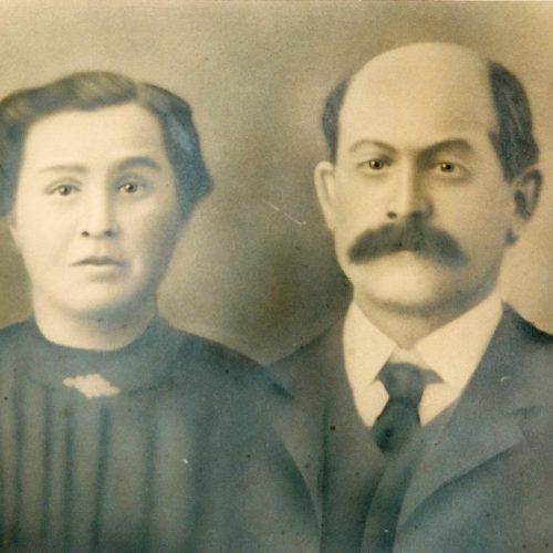 Désiré Marchand et Clérina Boisvert