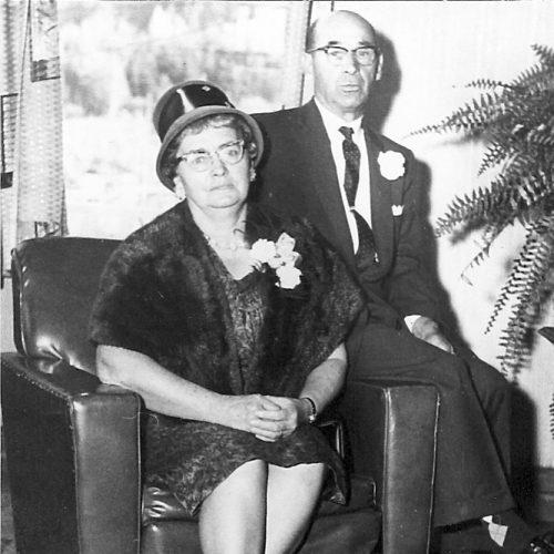 Edmond Marchand et Rachel Blais