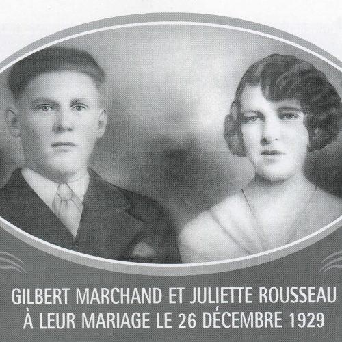 Gilbert Marchand et Juliette Rousseau